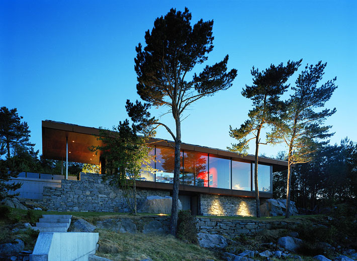 Cool Pool Tables >> Stunning Modern Home Overlooking The Fjord In Norway ...