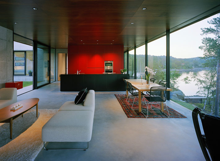 Stunning Modern Home Overlooking The Fjord In Norway