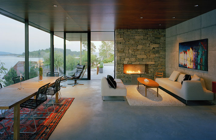 Stunning Modern Home Overlooking The Fjord In Norway ...