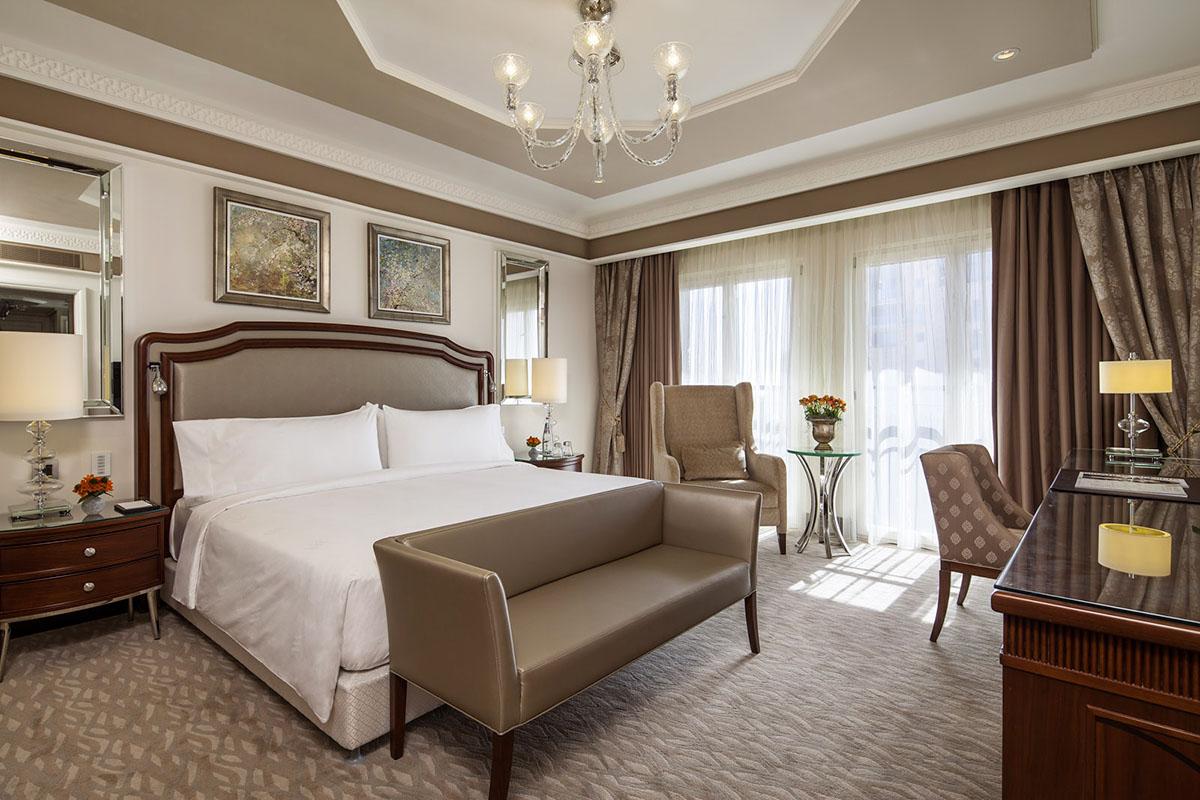 Waldorf astoria jerusalem hotel a mix of contemporary for Hotel waldorf astoria