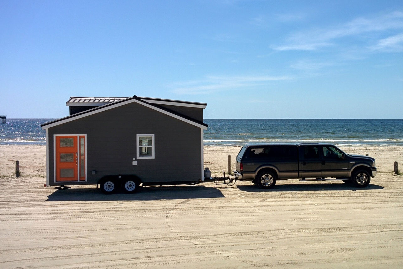 Travel in a Mobile Tiny House