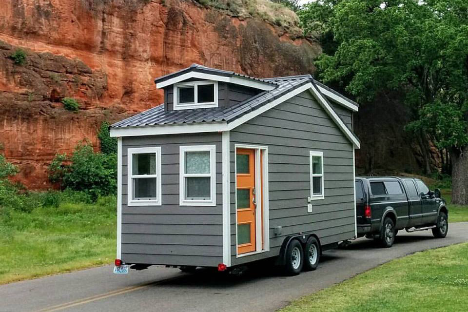 custom finished tumbleweed mobile tiny house idesignarch. Black Bedroom Furniture Sets. Home Design Ideas
