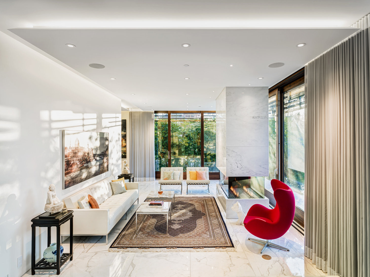 Inspirational Residence Captures West-Coast and Oriental Fusion ...