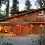 West Coast Style Modern Cedar Timber Cottage On Vancouver Island