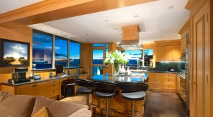 Custom Kitchen with Solid Wood Cabinets