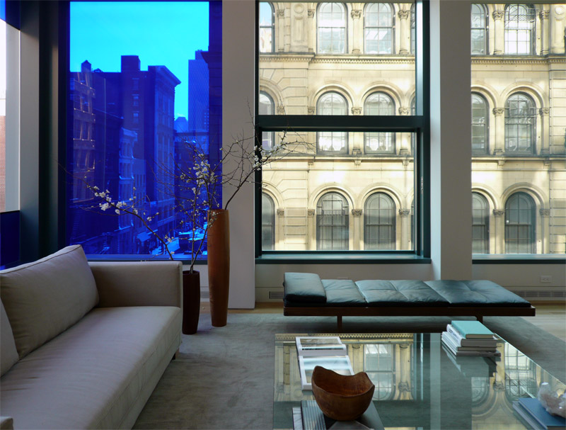 Modern design for apartment in new york city idesignarch for Interior designs new york