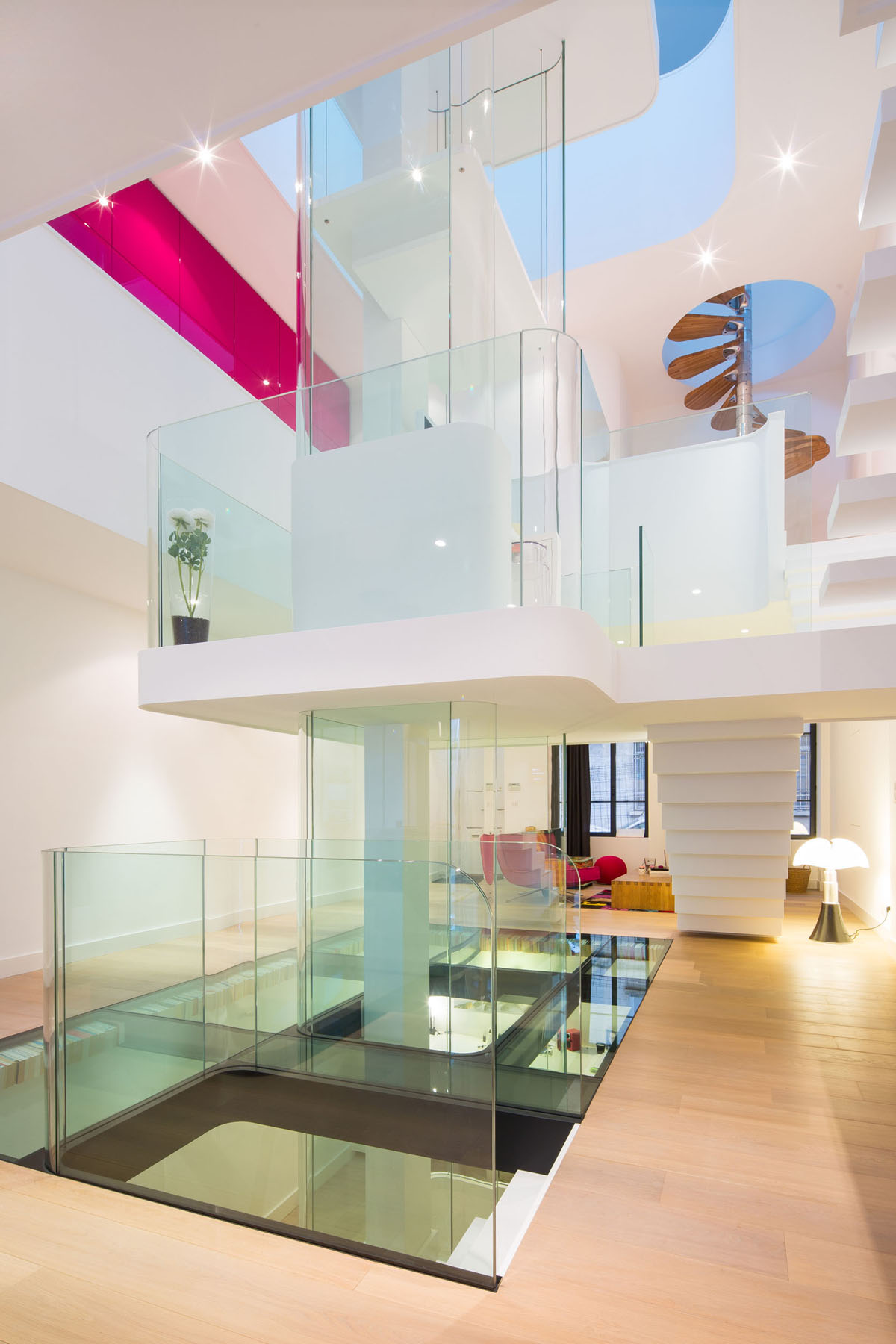 Modern Glass Interior Design Home