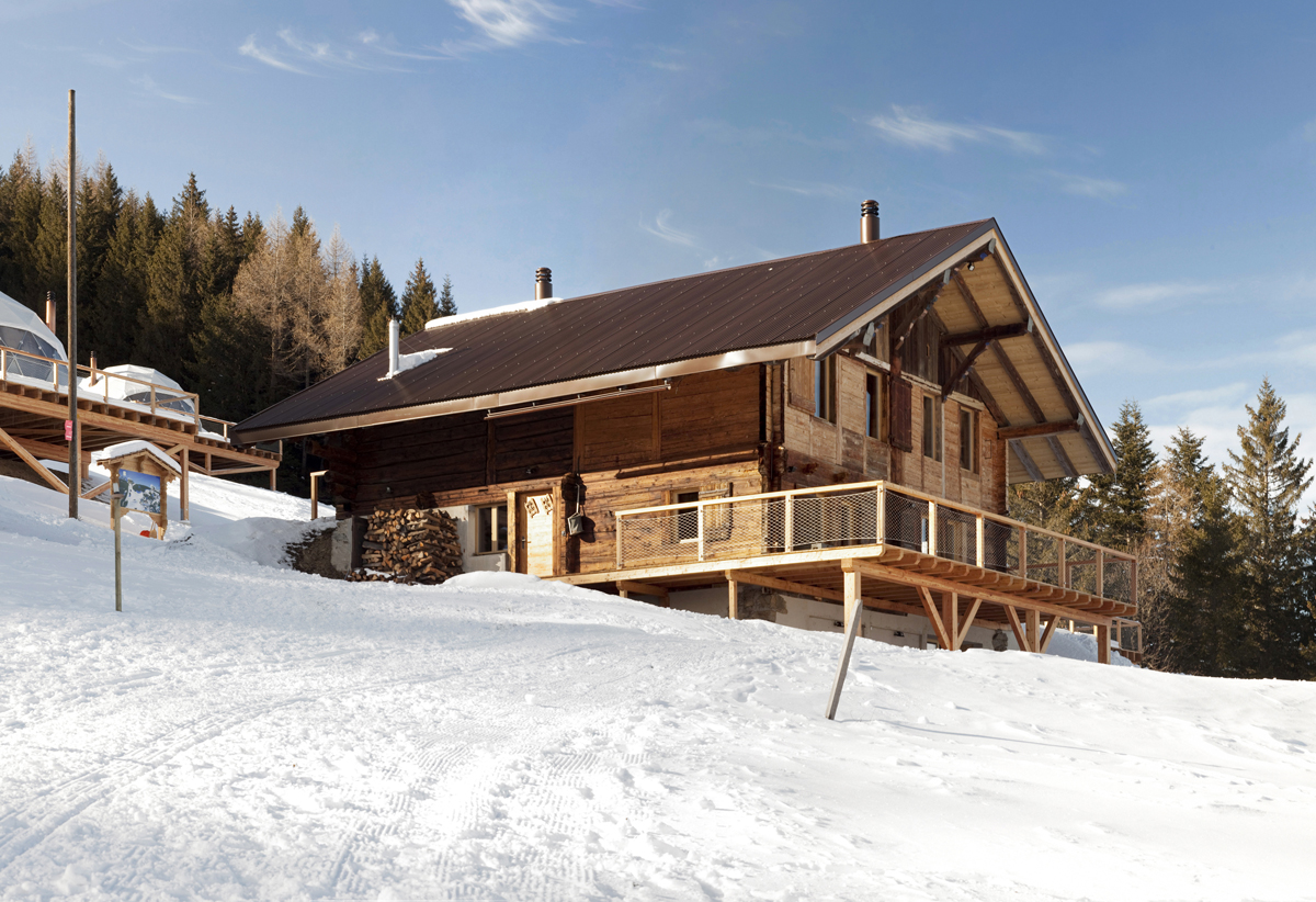 Swiss Alpine Chalet