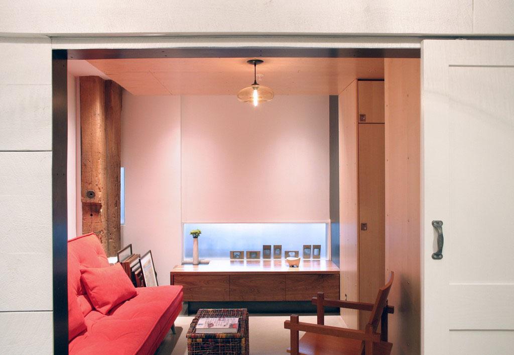 Beautiful Loft Living Room Design Illustration - Living Room Designs ...