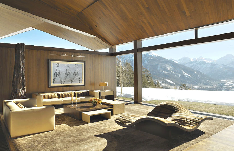 Energy Efficient Luxury Home In Aspen Idesignarch