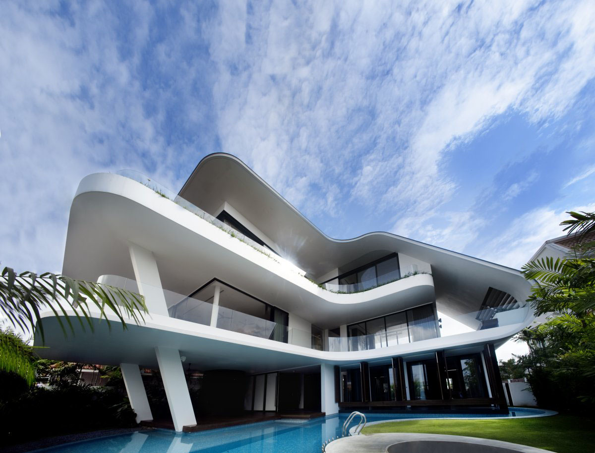yacht house design in singapore