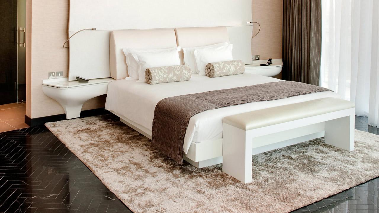 Yas Viceroy Abu Dhabi Modern Hotel Guest Room