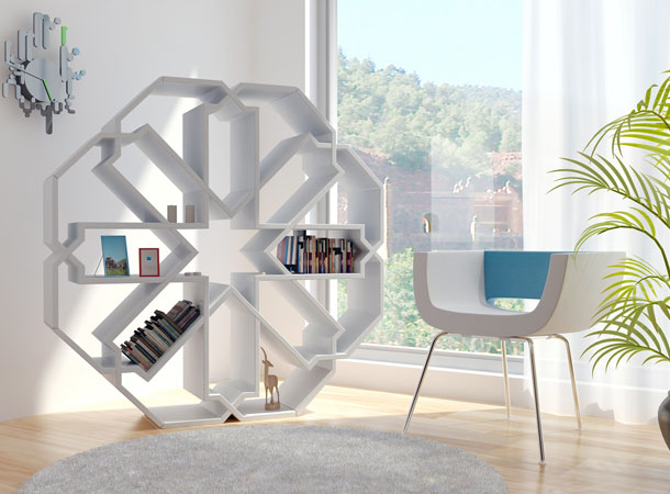 Moroccan Inspired Zelli Bookshelves Idesignarch