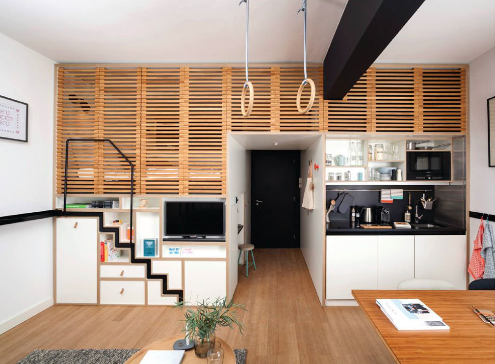 Zoku Loft An Intelligently Designed Small Home Office