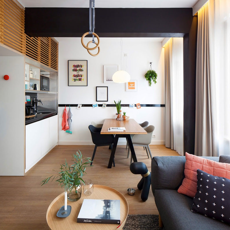 Apartment Office zoku loft: an intelligently designed small home office studio