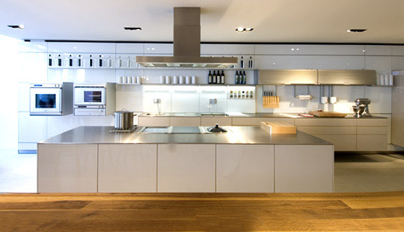 Kitchen designs with modern clean lines idesignarch Clean modern interior design