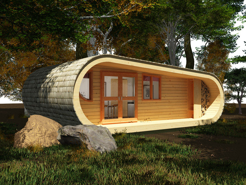 eco Perch Sustainable Small Tree House iDesignArch Interior