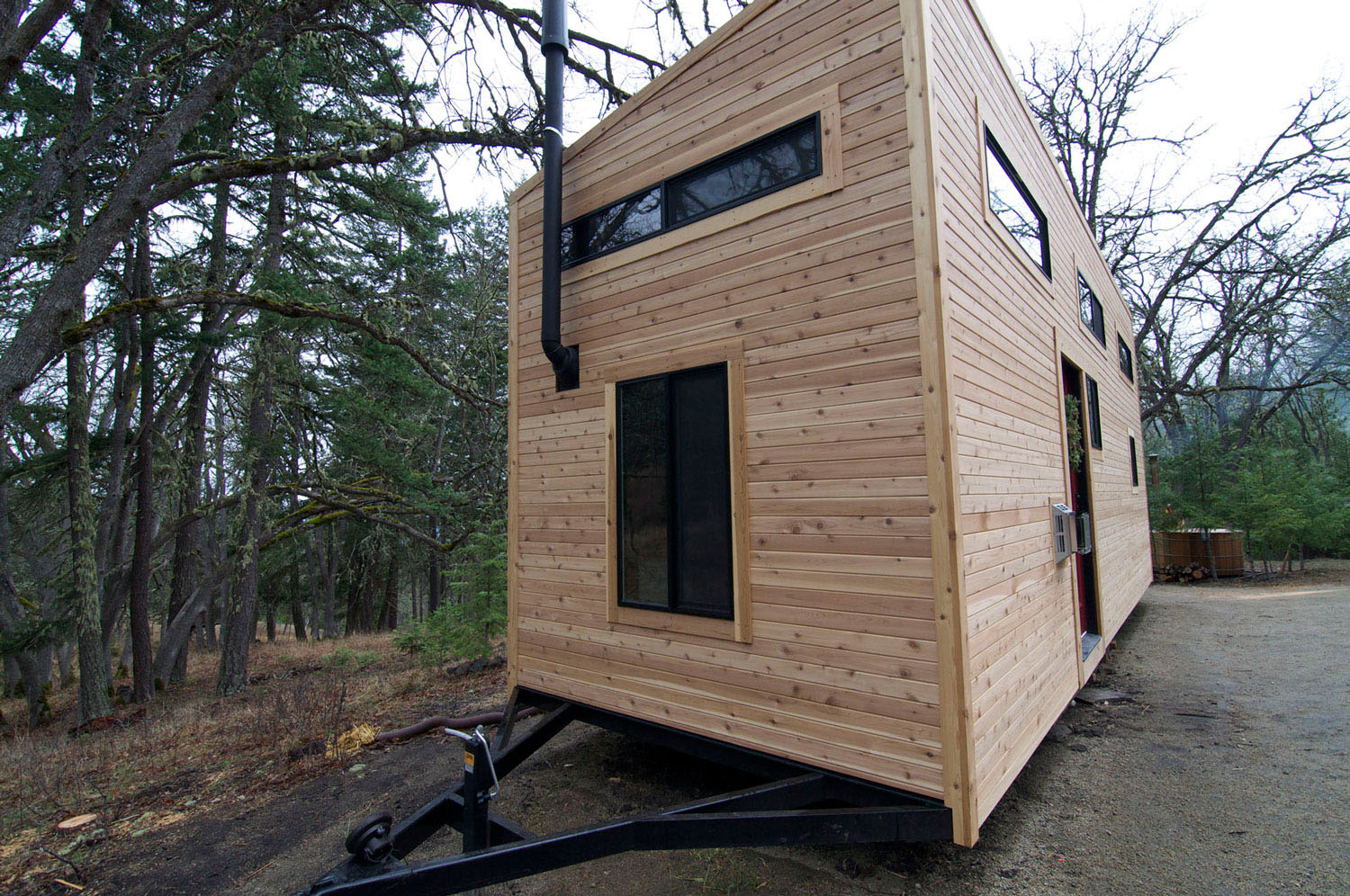 environmentally friendly tiny house - House On Wheels