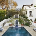Mediterranean-Inspired Spanish Colonial Revival Luxury House in Los Angeles