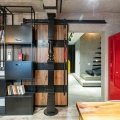Cool Industrial Style Duplex Loft Mixes Colours and Materials