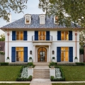 New Custom Luxury Home in Highland Park with Timeless Classic French Architecture