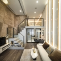 Luxurious Compact Modern Condo Apartment with Double Height Ceiling