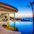 Ocean View Curved Modern Sanctuary on a Hilltop in La Jolla