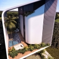 Sustainable Bioclimatic Tropical Modern House in Mexico