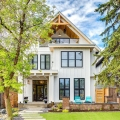 Classic Modern Farmhouse Brings Rustic Elegance to Urban Living