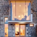 Modern Reconfiguration of a Victorian Stone House