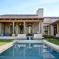 Elegant Stone House in Arizona with Rustic Mediterranean Architecture