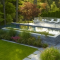 Elegant Luxury Homes Landscaping Offers Peaceful Urban Living
