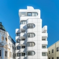 Futuristic Abstract Minimalist Apartment Building in the Heart of Cape Town