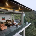 Dramatic Modern House In a Lush Urban Forest Reserve