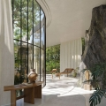 Modernist Jungle Escape Glass House in a São Paulo Forest