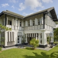 Tudor Inspired Colonial Architectural Style Luxury Home in Singapore