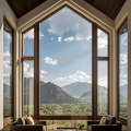 Luxury Timber Lodge in Aspen with Jaw-Dropping Mountain Scenery