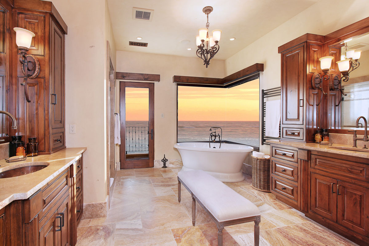 Ocean View Luxury Bathroom