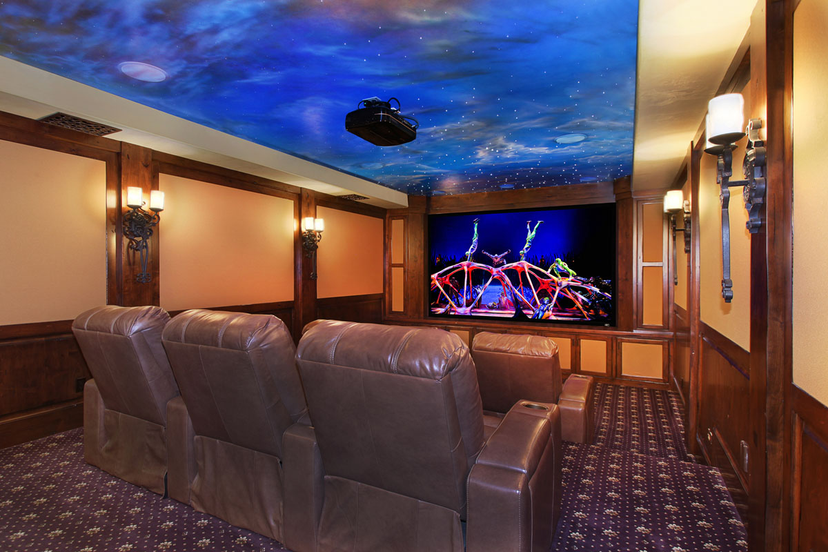 Home Cinema Interior Decor