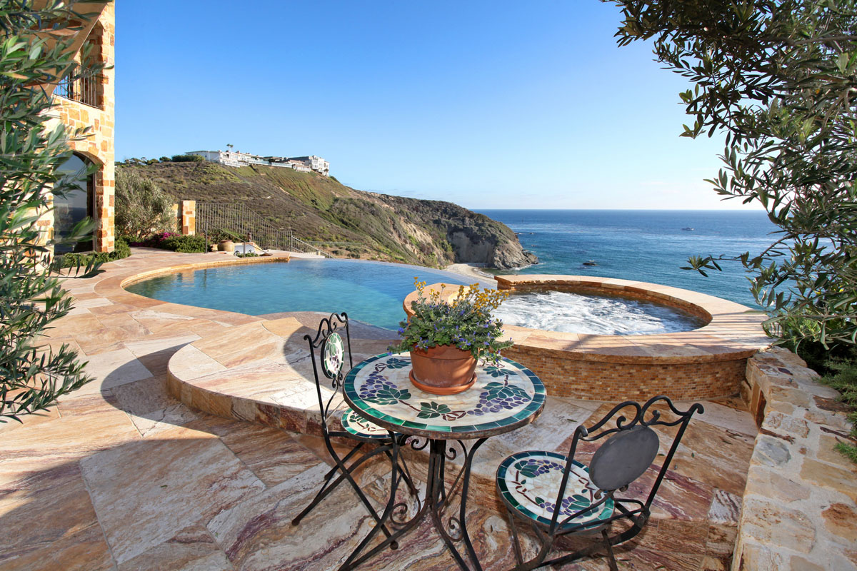 Tuscan Style House by the Sea