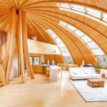 Eco-Friendly Rotating Dome Country Retreat