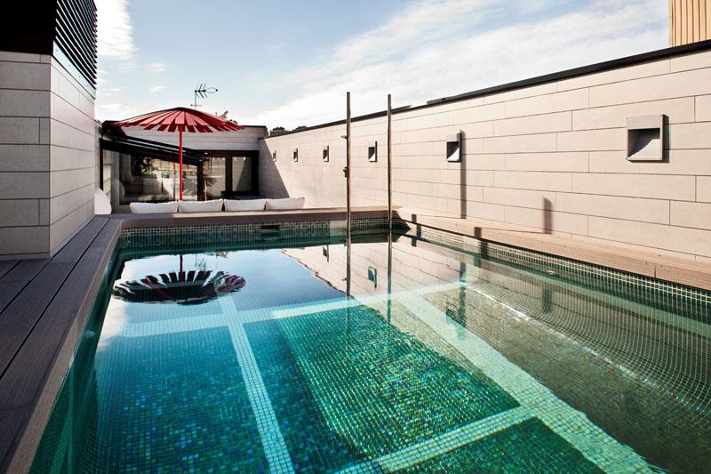 Rooftop Pool Terrace