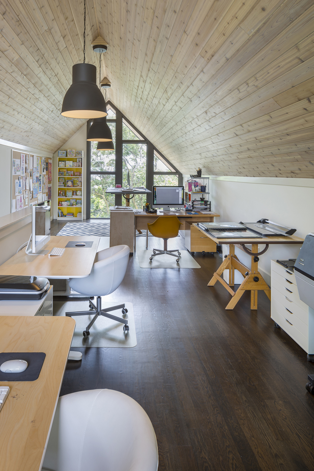 Attic Home Office