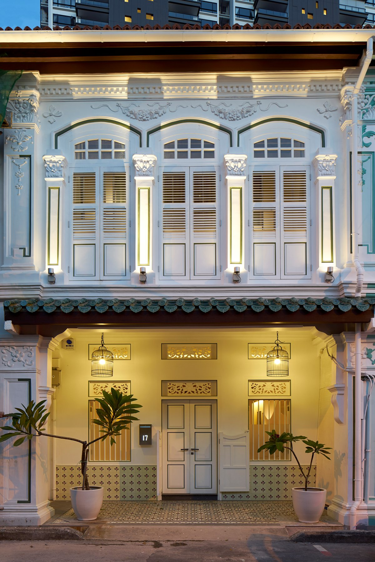 Singapore Renovated Shophouse