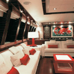 "Luxury Yacht ""Dragon"" Interiors"