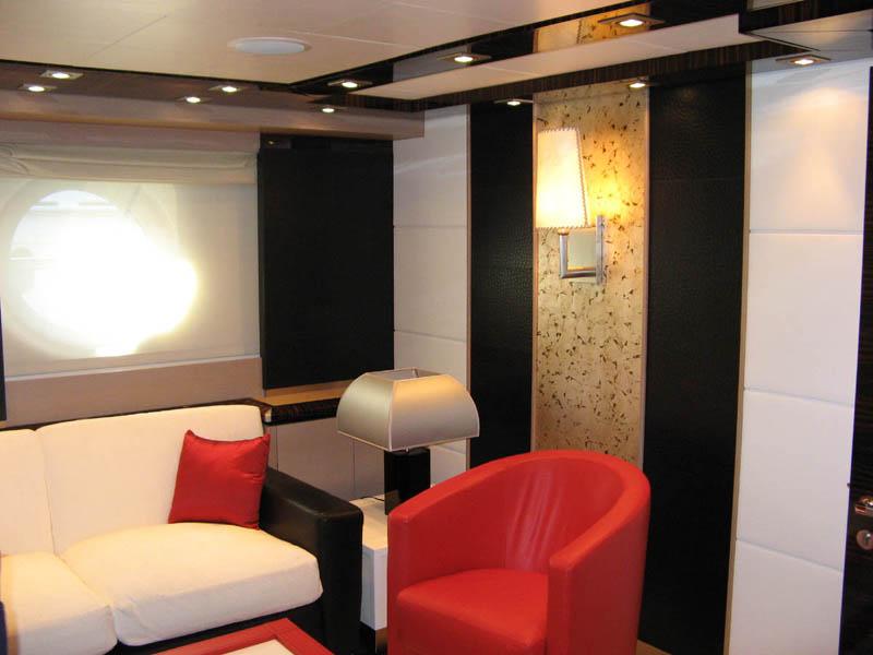 Luxury Yacht Quot Dragon Quot Interiors Idesignarch Interior