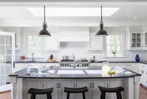 Coastal Style White Kitchen
