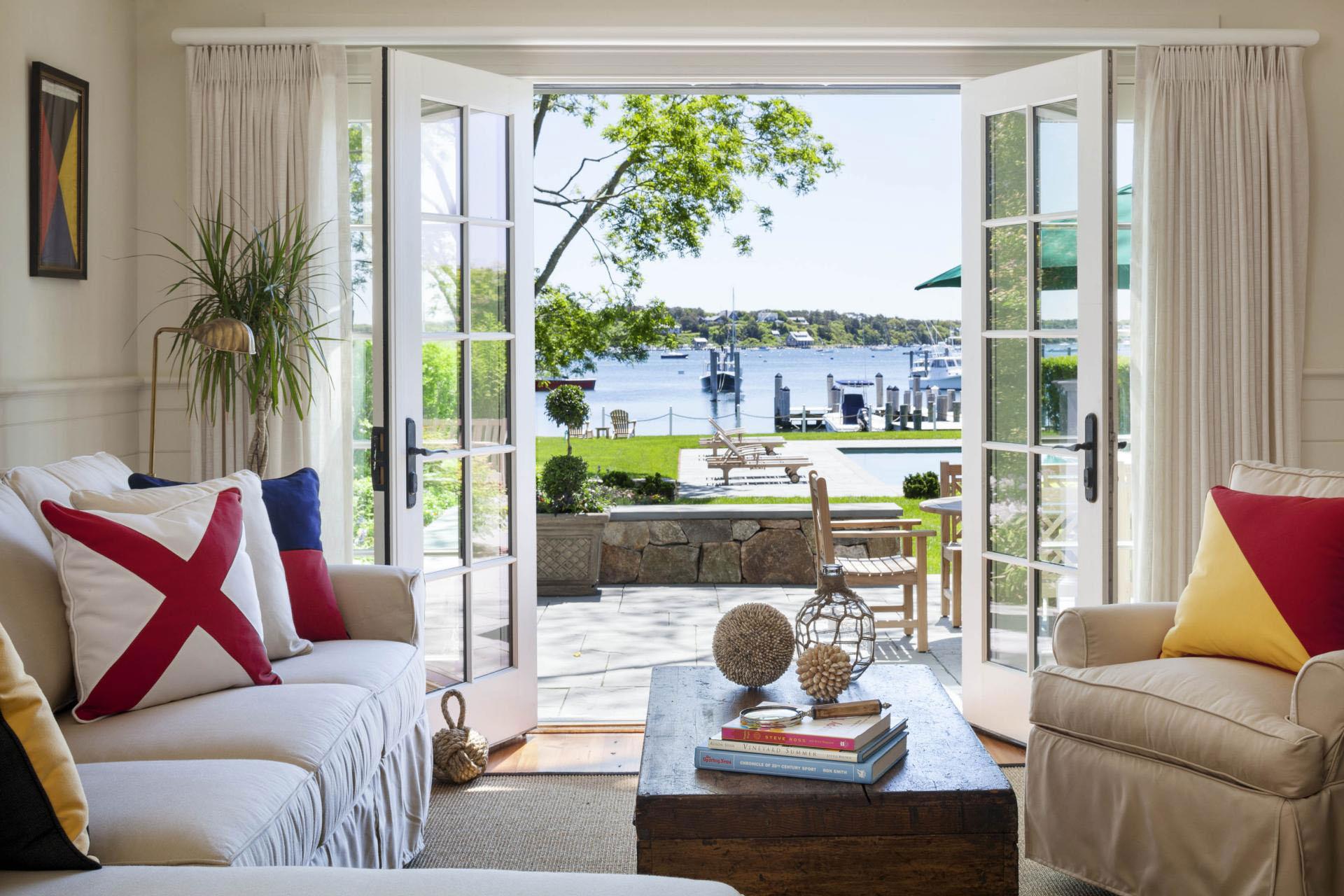 Edgartown Harbor View Waterfront House