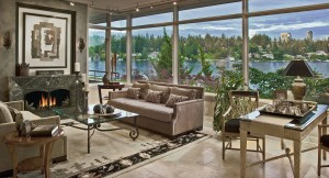 Contemporary Home with Lake View