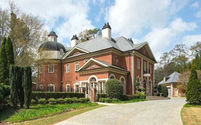 Buckhead Atlanta Georgia Mansion